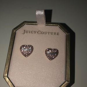 Never worn juicy couture earrings